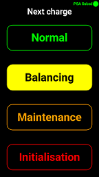 Charge setting buttons